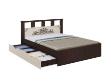 Кровать Жасмин c ящиками