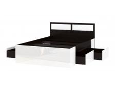 Кровать Беатрис с ящиками венге
