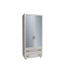 Шкаф Виктория с зеркалом КШ-123