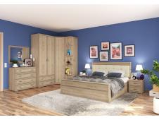 Спальня Ливорно сонома (вариант №4)
