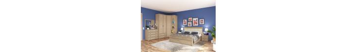Модульная спальня Ливорно сонома