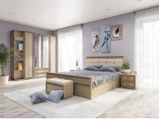 Спальня Ливорно сонома (вариант №3)