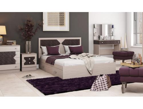 Кровать Николь ясень