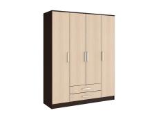 Шкаф Фиеста 4 -х створчатый венге