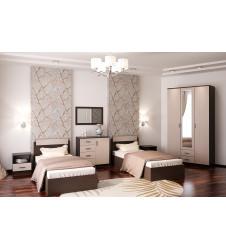 Спальня Трио-3 с матрасом