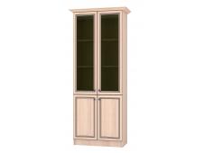 Шкаф Жасмин с витриной