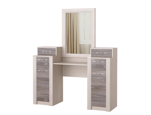 Косметический стол Октава дуб серый