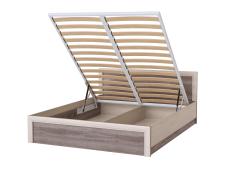 Кровать Октава дуб серый с подьемным механизмом