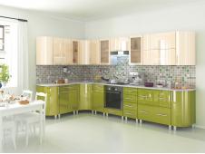 Кухня Танго олива ваниль