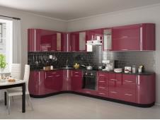 Кухня Танго бордо