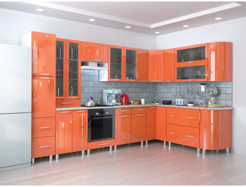 Кухня Танго оранж