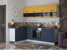 Кухня Техно new 1,6 x 2,4 м
