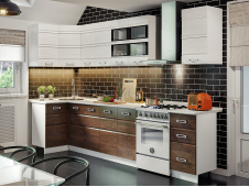 Кухня Техно-2 угловая