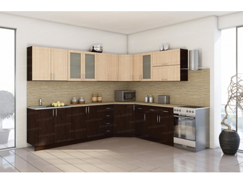 Кухня Тиса угловая (вариант №2)