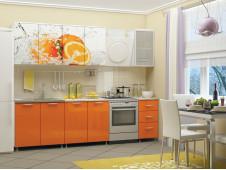 Кухня Апельсин мдф