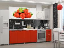 Кухня Клубника мдф