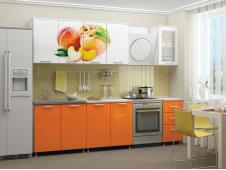 Кухня Персик мдф