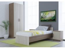 Спальня  Бася эконом ясень