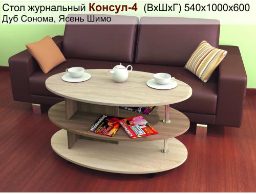 Стол Консул-4 ясень