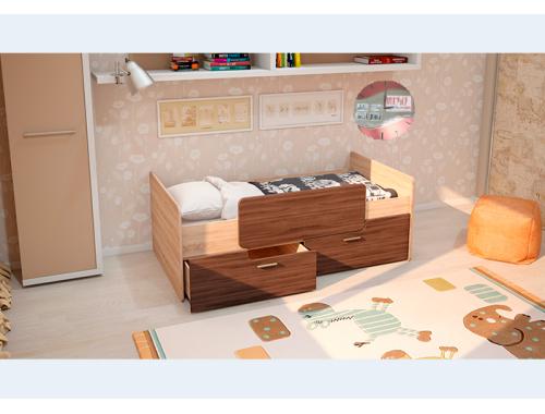 Кровать Умка ясень с ограничителем