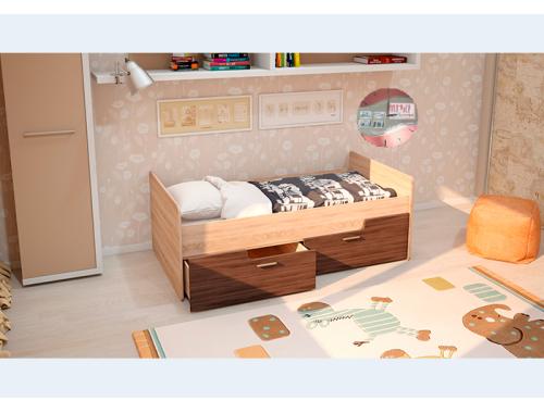 Кровать Умка ясень