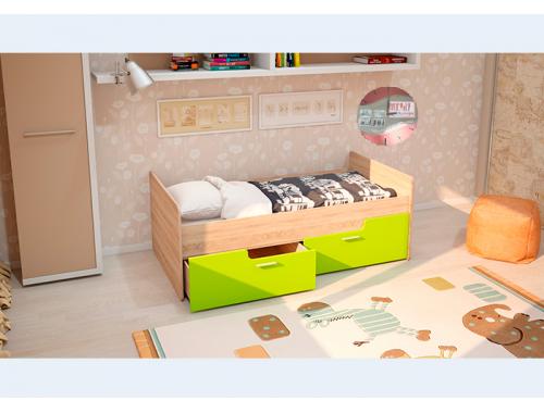 Кровать Умка лайм