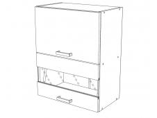 Шкаф навесной Сахара ВС500Г