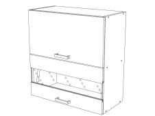 Шкаф навесной Сахара ВС600Г