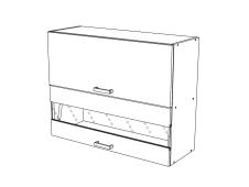 Шкаф навесной Сахара ВС800Г
