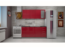 Кухня София красная 1.8 метра