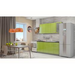 Кухня София зеленая 1.8 метра