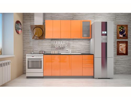 Кухня София оранж 1.8 метра