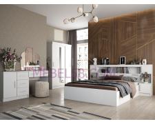 Модульная спальня Бася белый
