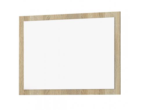 Зеркало Глория белый акрил