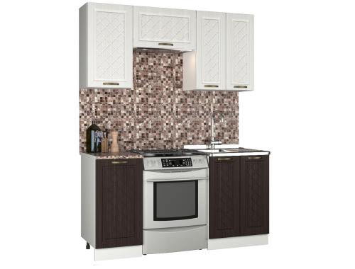 Кухня Агава П 1.6 м комбинированная