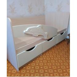 Кровать Дельфин ваниль