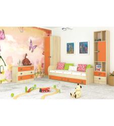 Мебель для детской Колибри оранж (вариант-1)