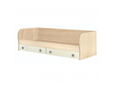 Кровать Колибри с ящиками ваниль
