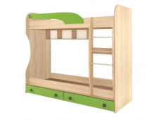 Кровать двухярусная  Колибри