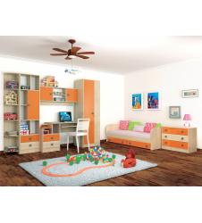 Мебель для детской Колибри оранж (вариант-2)