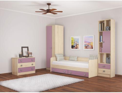 Мебель для детской Колибри виола (вариант-1)