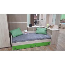 Кровать Колибри с ящиками махито