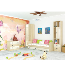 Мебель для детской Колибри ваниль (вариант-1)