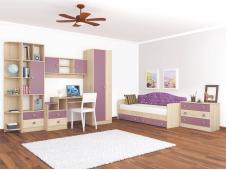 Мебель для детской Колибри виола (вариант-2)