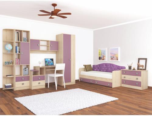 Мебель для детской Колибри виола (вариант №2)
