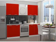 Кухня Катя  (красная) 1.6 метра
