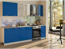 Кухня синяя 2.0 метра