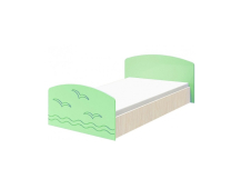 Кровать Юниор-2 салатовая
