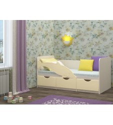 Кровать Дельфин-1 ваниль
