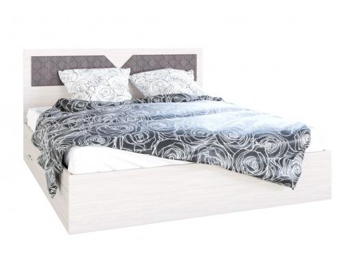 Кровать Николь с ящиками ясень
